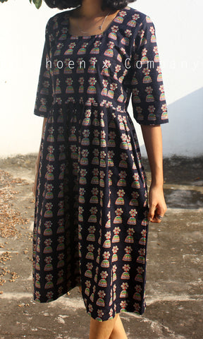 Black Jhumka Dress