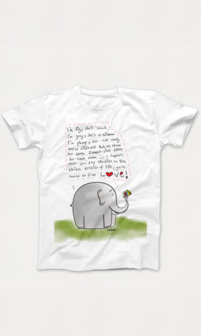 Elephant-Titli T-Shirt