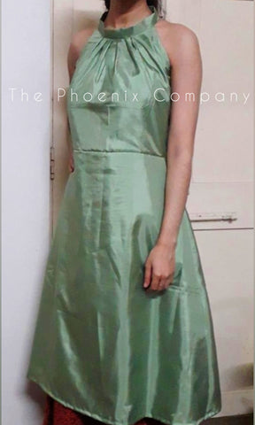 Green Upcycled Dress