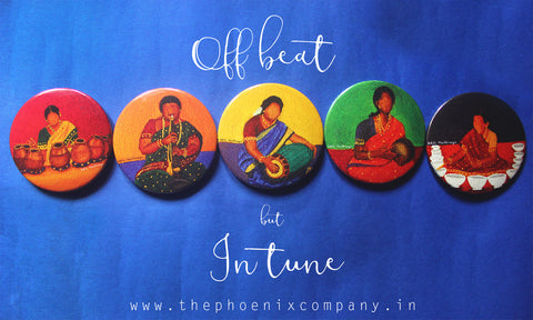 Off-beat but In-tune Fridge Magnets