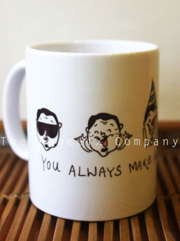 Funny faces - Father's Day Mug