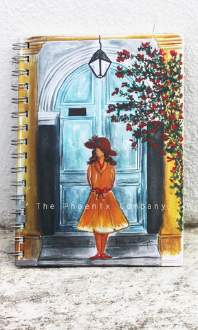 Pondicherry Door Notebook