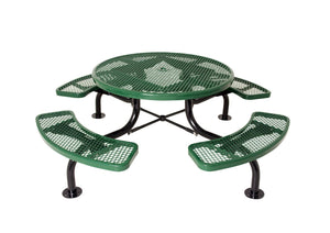 "46"" Round Table with Umbrella Hole"