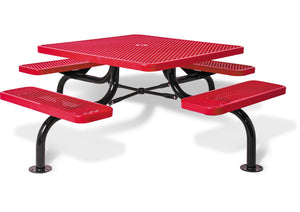 "46"" Square Table with Umbrella Hole"