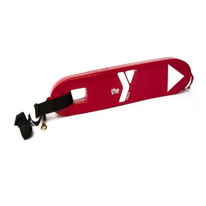 "40"" Rescue Tube with YMCA Logo- RED"