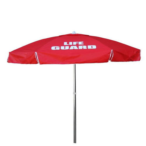 6FT Guard Umbrella RED