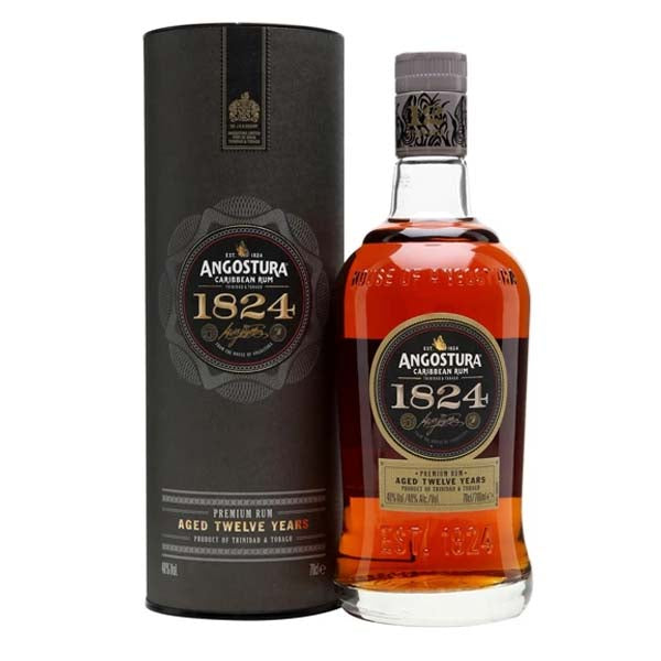 Angostura 1824 12yr old Dark Rum - thedropstore.com