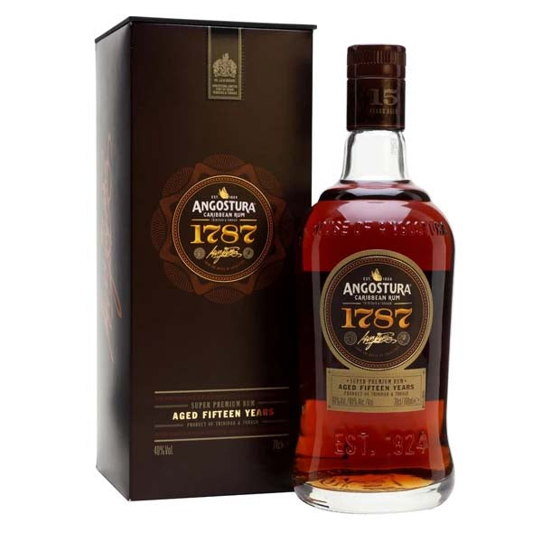 Angostura 1787 15yr Old Dark Rum - thedropstore.com