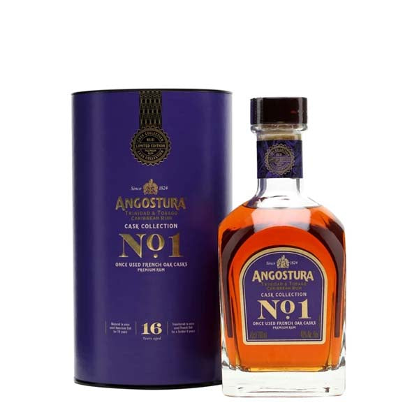 Angostura No.1 16yr Old French Oak - Cask Collection Dark Rum - thedropstore.com