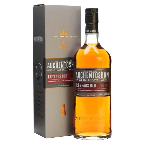 Auchentoshan 12 Year Old Lowland Single Malt Scotch Whisky - thedropstore.com