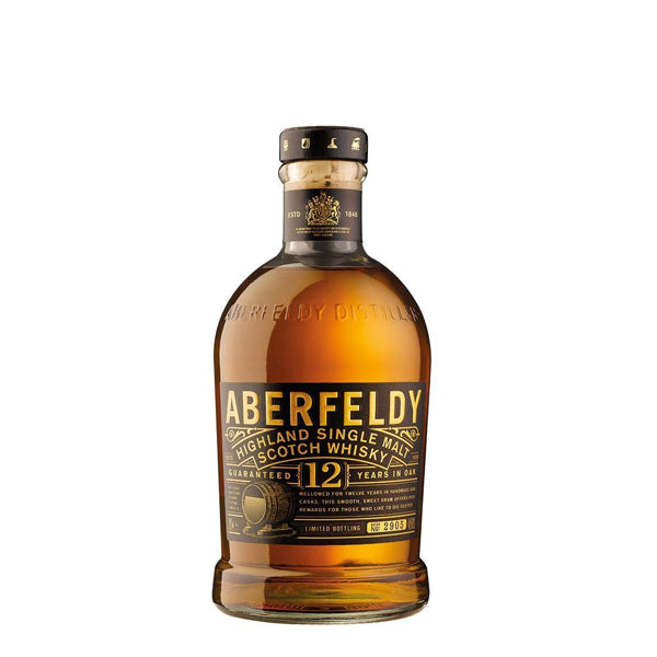 Aberfeldy 12 Year Old Single Malt Scotch Whisky - thedropstore.com