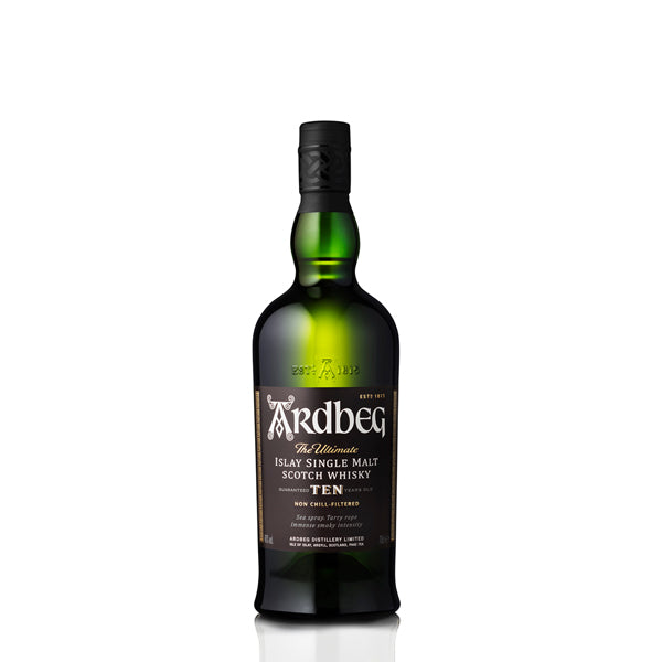 Ardbeg 10 Year Old Single Malt Scotch Whisky - thedropstore.com
