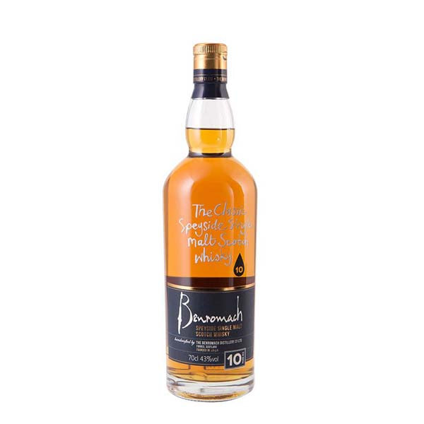 Benromach 10 Year Old Single Malt Whisky - thedropstore.com