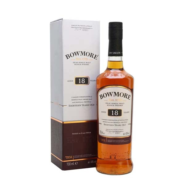 Bowmore 18yr old Whisky - thedropstore.com