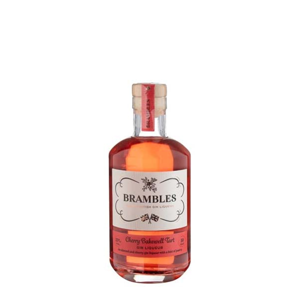 Brambles Cherry Bakewell Tart Gin Liqueur - thedropstore.com