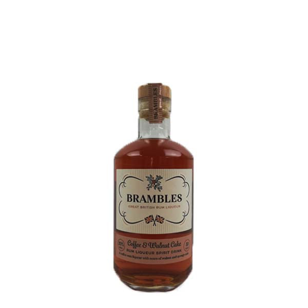Brambles Coffee and Walnut Cake Rum Liqueur - thedropstore.com