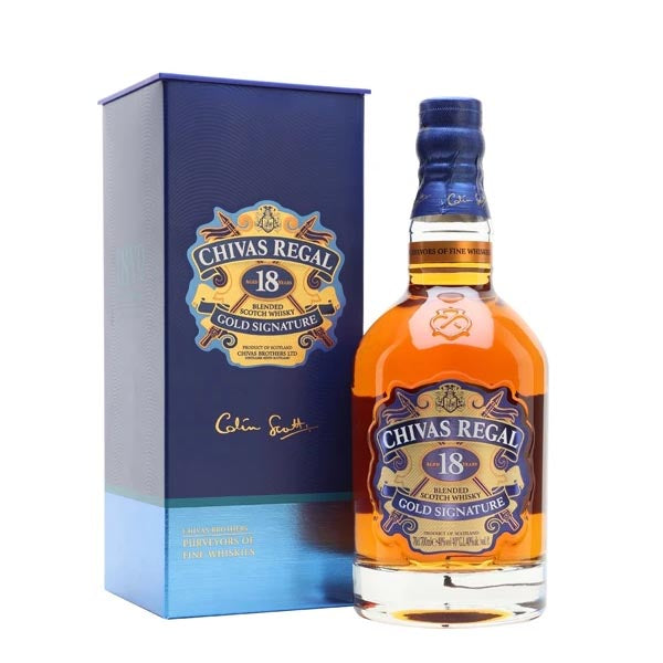 Chivas Regal 18yr Old Whisky - thedropstore.com