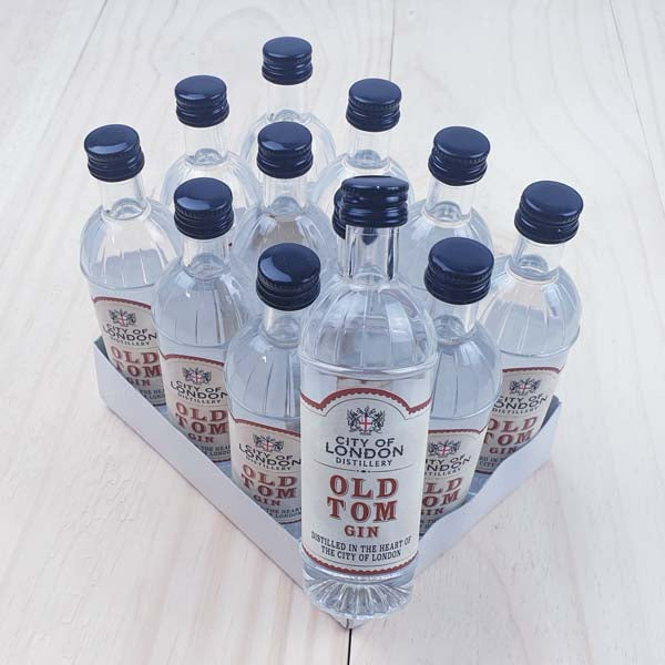City of London Distillery Old Tom Gin 12x5cl (old product) - thedropstore.com