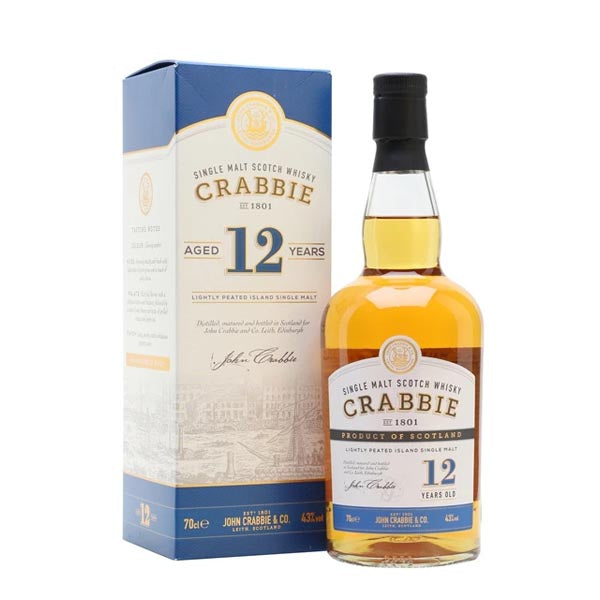 Crabbie 12 Year Old Single Malt Whisky - thedropstore.com