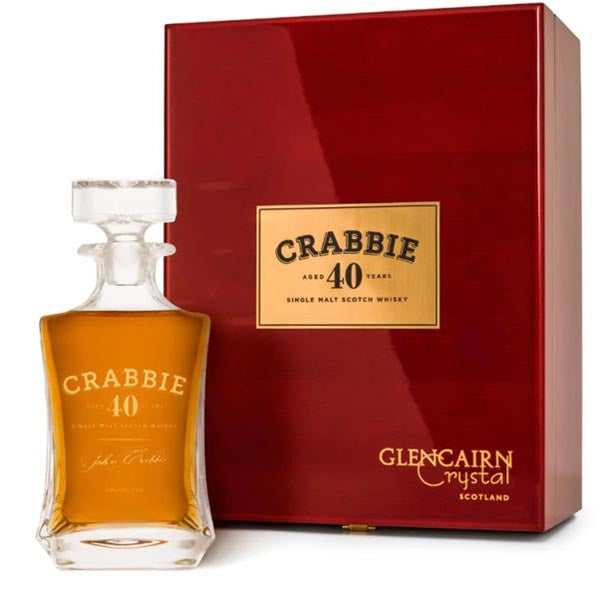 Crabbie 40 Year Old Single Malt Scotch Whisky - thedropstore.com