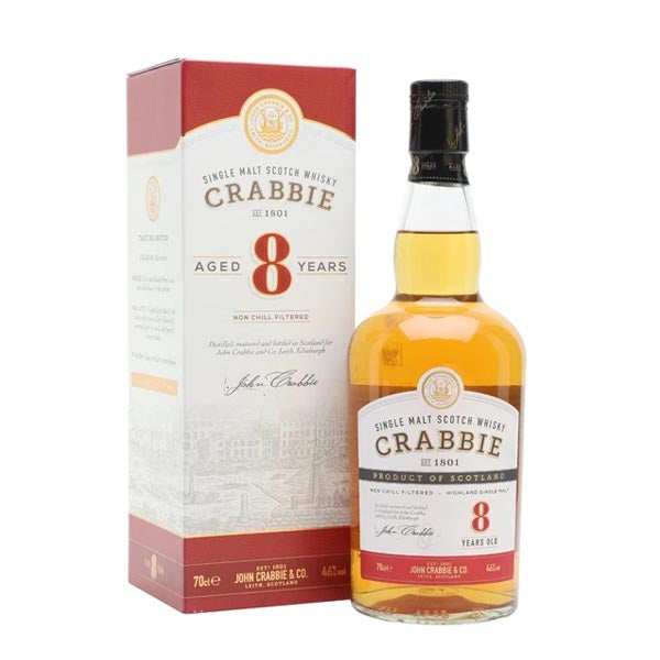 Crabbie 8 Year Old Single Malt Whisky - thedropstore.com
