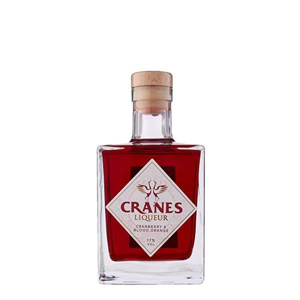 Cranes Cranberry & Blood Orange Liqueur - thedropstore.com