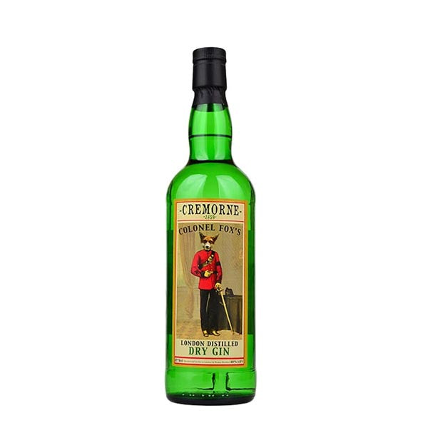 Cremorne Colonel Fox's London Dry Gin - thedropstore.com