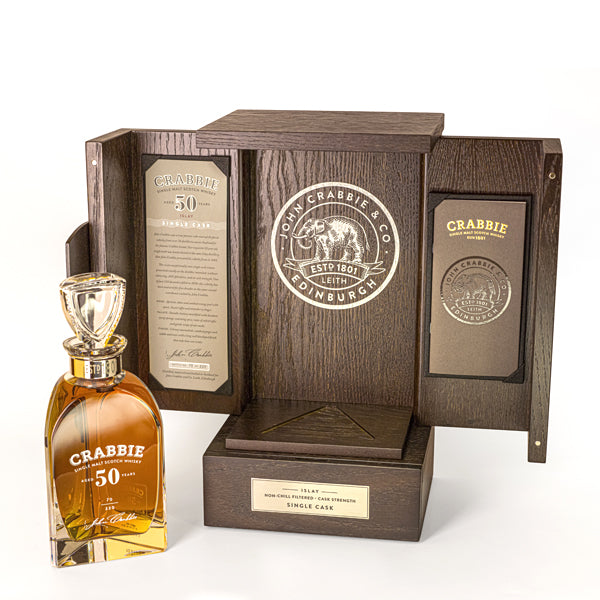 Crabbie 50 Year Old Single Malt Scotch Whisky - thedropstore.com