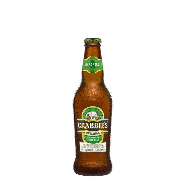 Crabbie's Ginger Beer 12 330ml Bottle Case - thedropstore.com