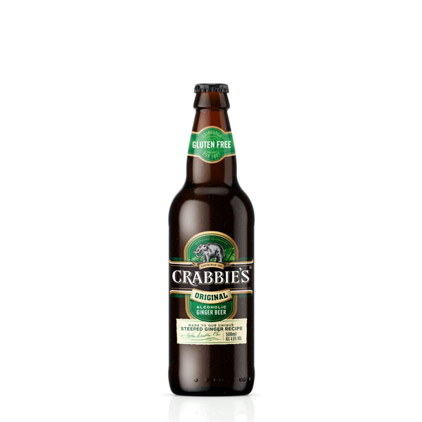 Crabbie's Ginger Beer 12 Bottle Case - thedropstore.com