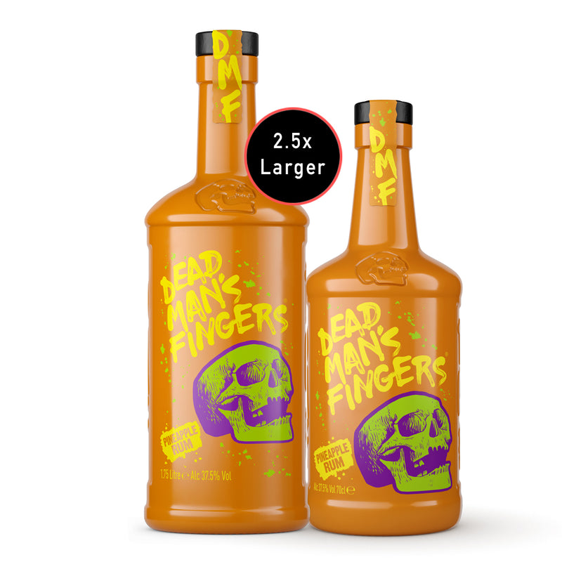 PRE-ORDER - Dead Man's Fingers Pineapple Rum Extra Large 1.75 Litre
