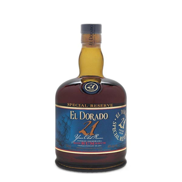 El Dorado 21yr old Rum - Chalié Richards & Co Ltd T/A The Drop Store