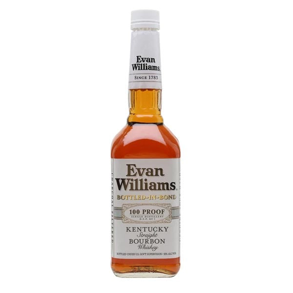 Evan Wiliams White Label Bottled In Bond Bourbon - thedropstore.com
