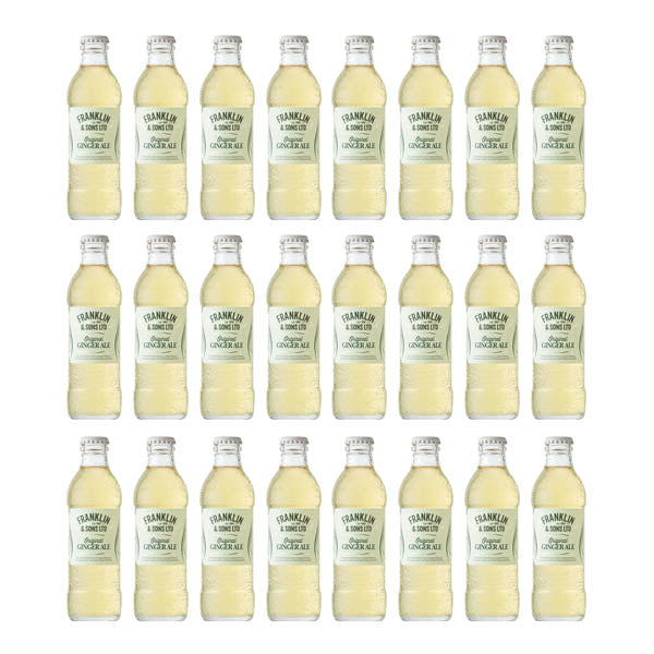 Franklin & Sons Ginger Ale 24x200ml - Chalié Richards & Co Ltd T/A The Drop Store