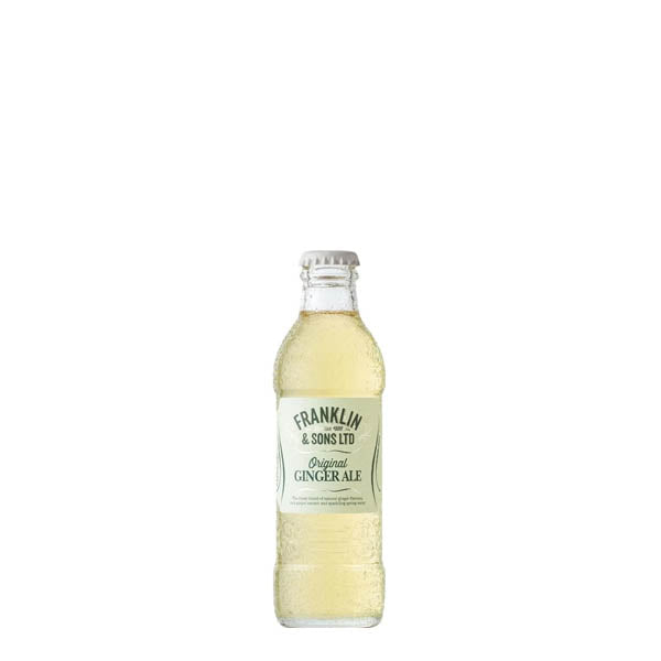 Franklin & Sons Ginger Ale 24x200ml - thedropstore.com