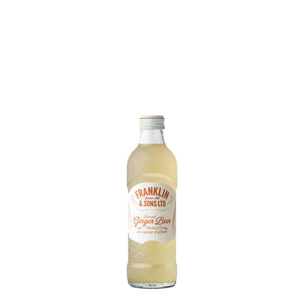 Franklin & Sons Ginger Beer 24x200ml - thedropstore.com