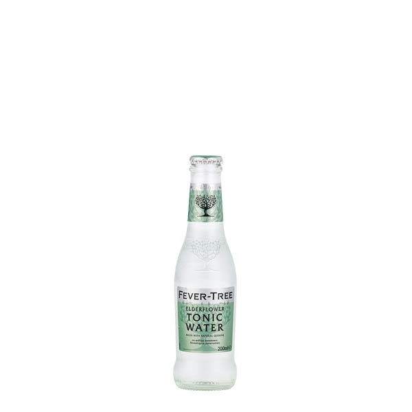 Fever Tree Elderflower Tonic Water 24x200ml - thedropstore.com