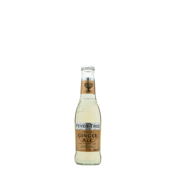 Fever Tree Premium Ginger Ale 24x200ml - thedropstore.com
