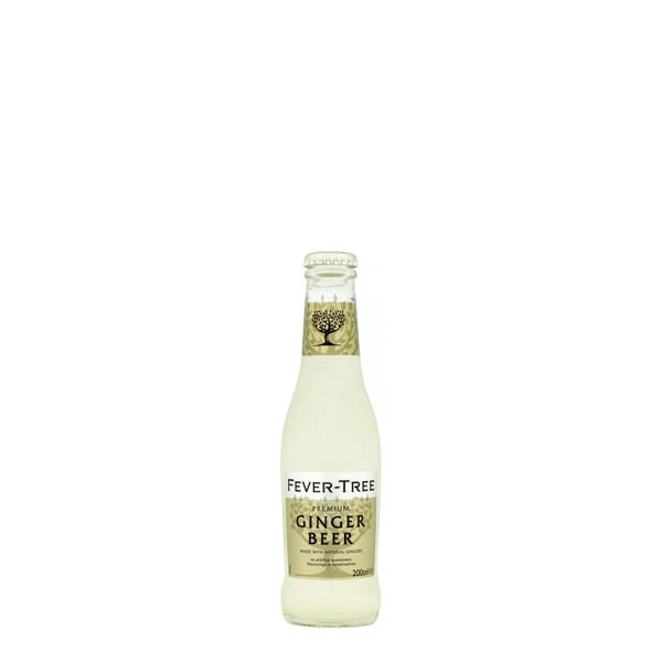 Fever Tree Ginger Beer 24x200ml - thedropstore.com