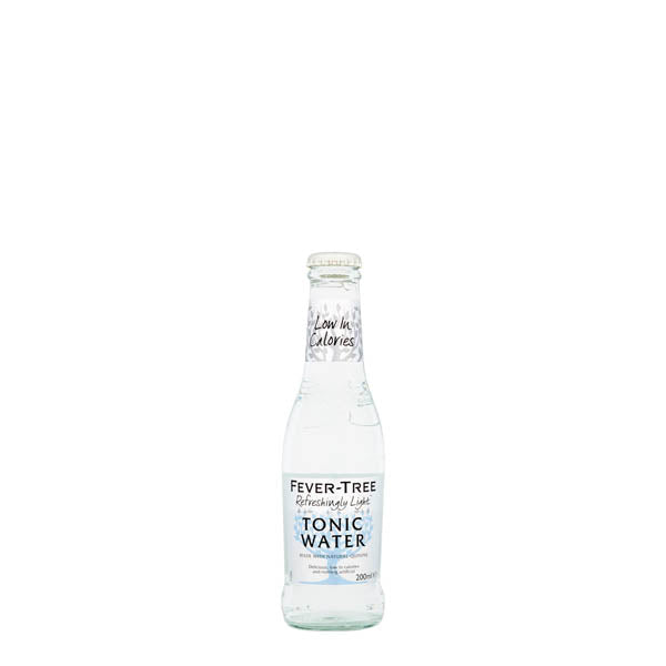 Fever Tree Refreshingly Light Tonic Water 24x200ml - thedropstore.com