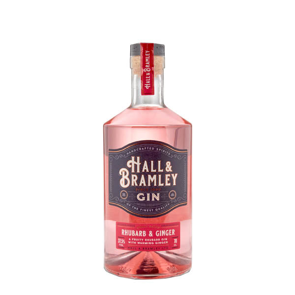 Hall & Bramley Rhubarb and Ginger Gin - thedropstore.com