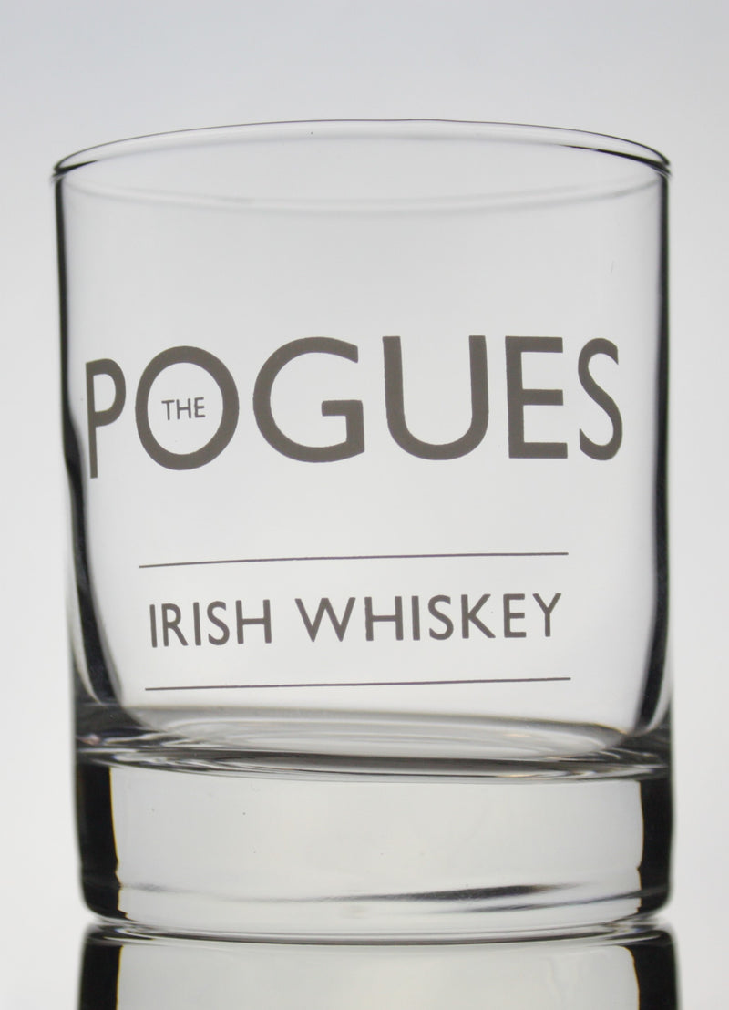 The Pogues Irish Whiskey Rock Glass - thedropstore.com