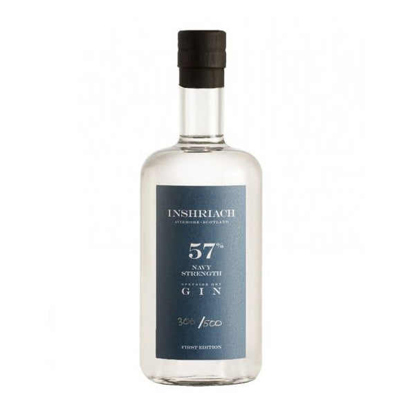 Inshriach Navy Strength Gin 57% 70cl