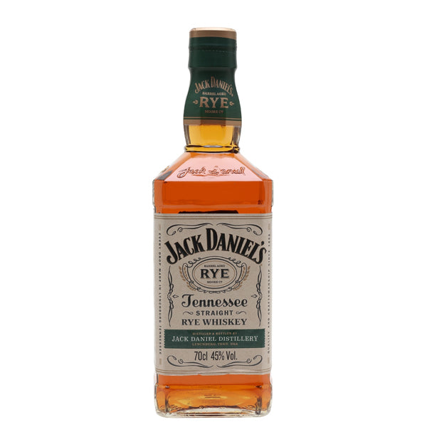 Jack Daniels Tennessee Rye Whiskey - thedropstore.com