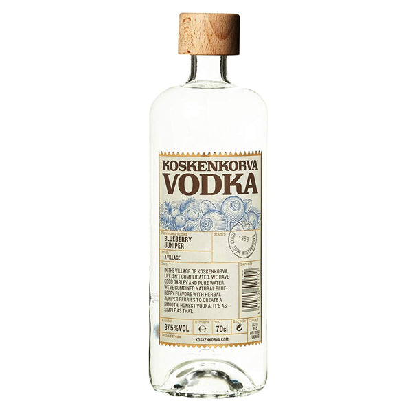 Koskenkorva Blueberry Juniper Vodka - thedropstore.com