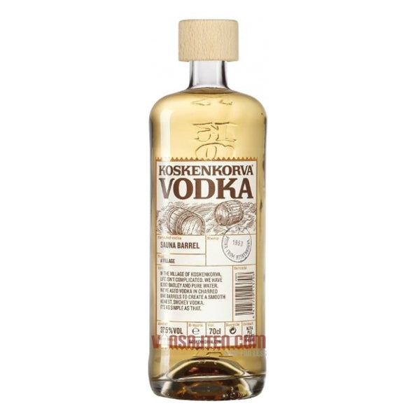 Koskenkorva Sauna Barrel Vodka - Chalié Richards & Co Ltd T/A The Drop Store