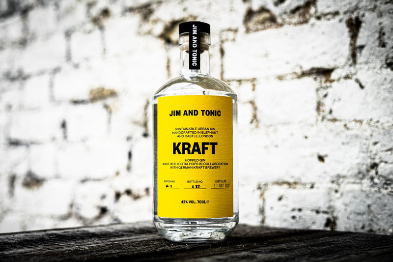 Jim & Tonic Kraft Hopped & Grapefruit Peel Gin - thedropstore.com