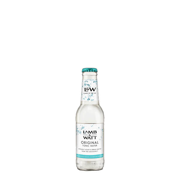 Lamb & Watt Original Tonic Water 12x200ml - thedropstore.com