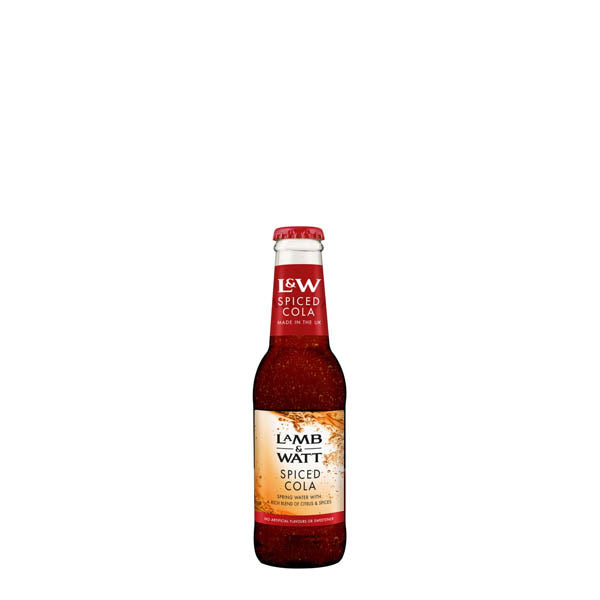 Lamb & Watt Spiced Cola 12X200ml - thedropstore.com