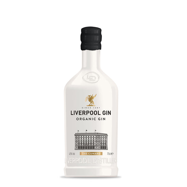 Liverpool Limited Edition 'The Cunard' Organic Gin - thedropstore.com